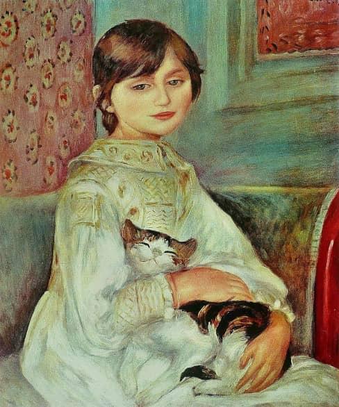Pierre Auguste Renoir Julie Manet